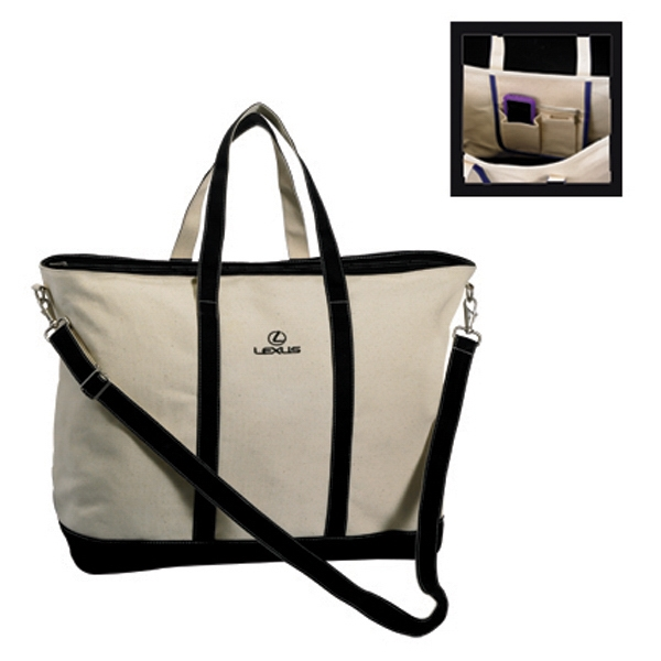 Threads - Extra Large, 26 Oz Canvas Tote Bag Photo