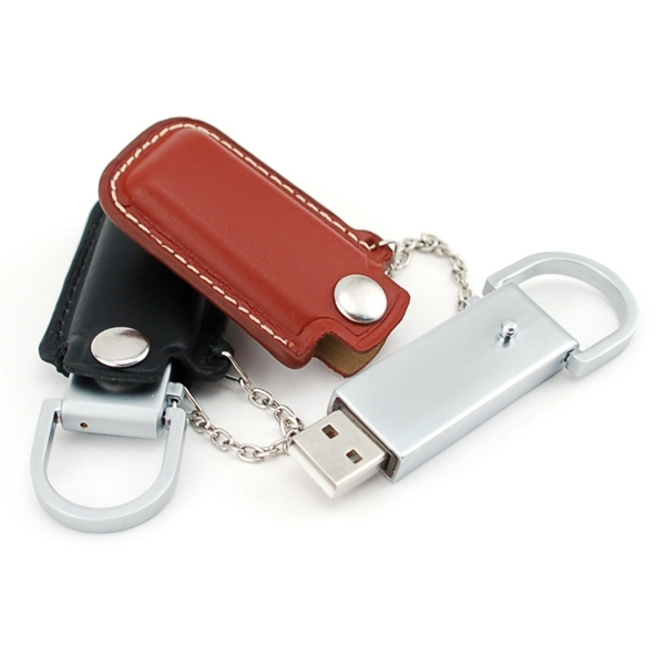 256mb - Leather Usb Drive 400 Photo