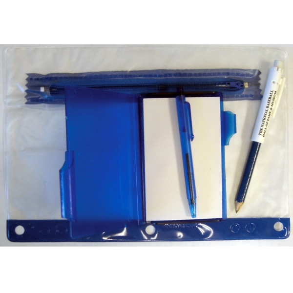 Translucent School Pouch With Jotter Pad Photo