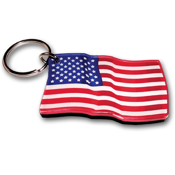 Personalized Key Chains (6 Square Inches) Made in USA