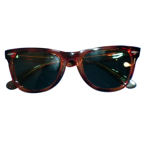 Classic Blues Brothers Style Tortoise Shell Polished Frame, Uv Lens Photo