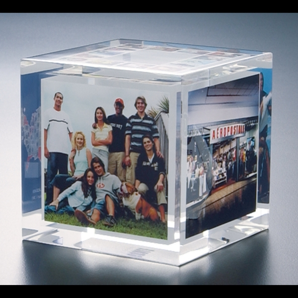 "Blank Goods. Embedment Cube Award, 2 1/2"" X 2 1/2"" X 2 1/2"" Photo"