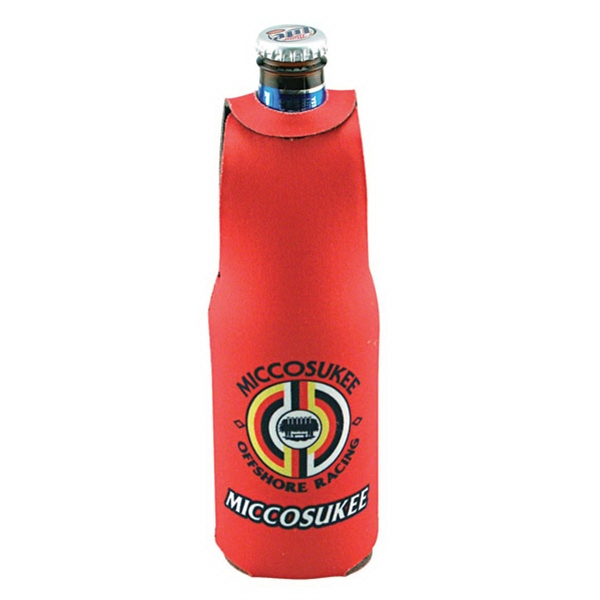 Bottle Jacket - 4 Color Process Sublimated Insulated Bottle Jacket For 12oz Bottles Photo