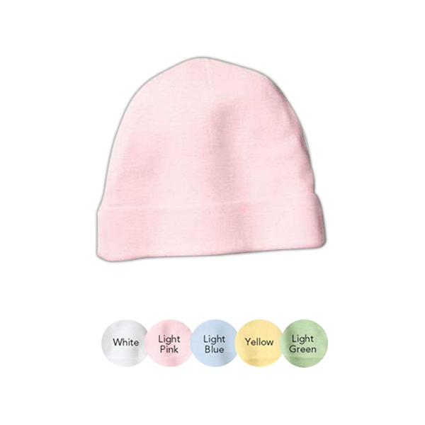 Precious Cargo (r) - Infant 4.7 Oz. 100% Ringspun Combed Cotton Jersey Beanie Photo