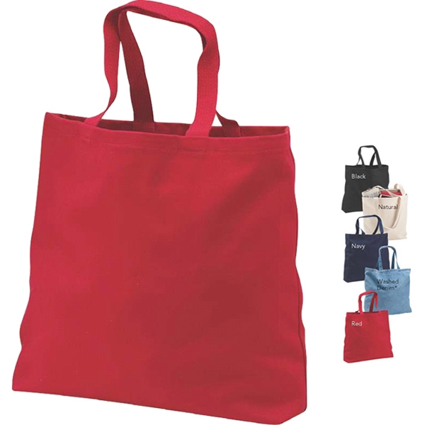 Port & Company (r) - Cotton Twill Convention Tote Bag With Cotton Web Handles Photo