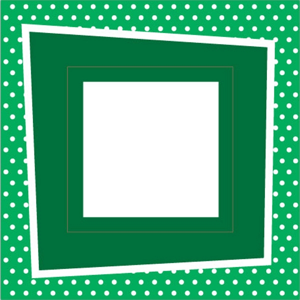Go Green Picture Frame Magnet