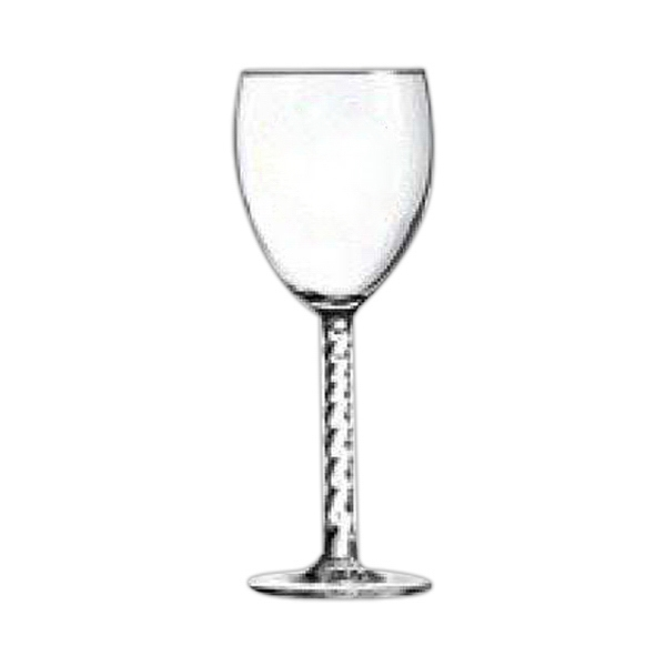 Wine goblet glass