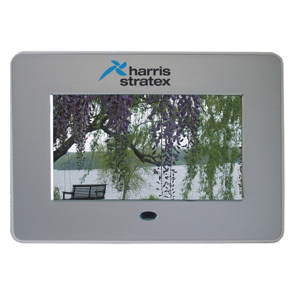 Meta Pix Ii - High Definition Brushed Metal, True Digital Picture Frame Photo