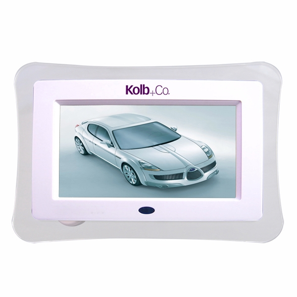 "Digipix 24 - Digital Photo Frame With Bright, 7"" Lcd Display And Multi Functions Photo"