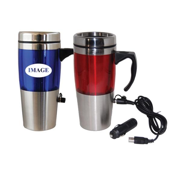 16 oz. Heated Travel Mug