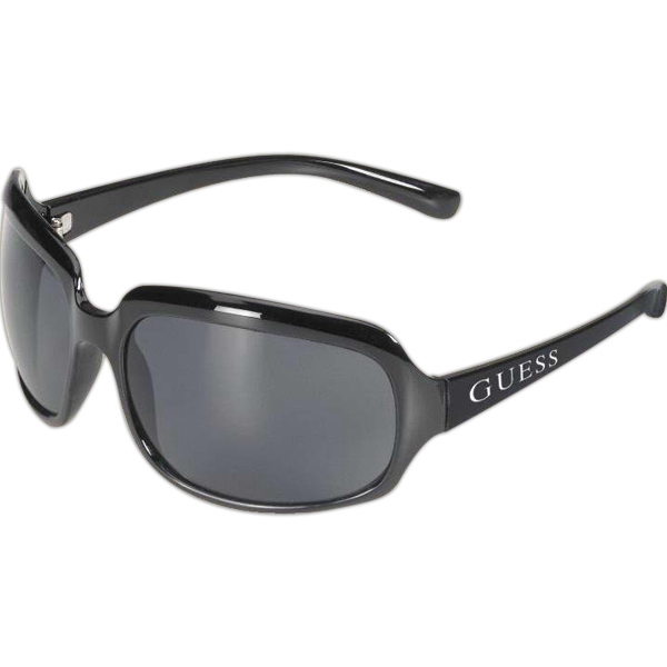 Malibu - Large Black Frame Sunglasses With A Smoke Lens Photo