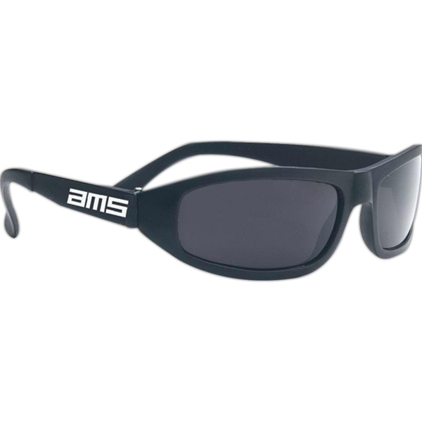 Terminator - Rubber Sports Style Wraparound Sunglasses Photo