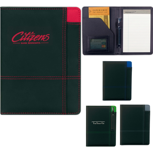 Contrast - Pvc Junior Padfolio Made Of 210 And 600 Denier Polyester Photo