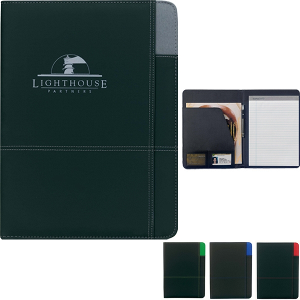 Contrast - Pvc Padfolio Made Of 210 And 600 Denier Polyester Photo