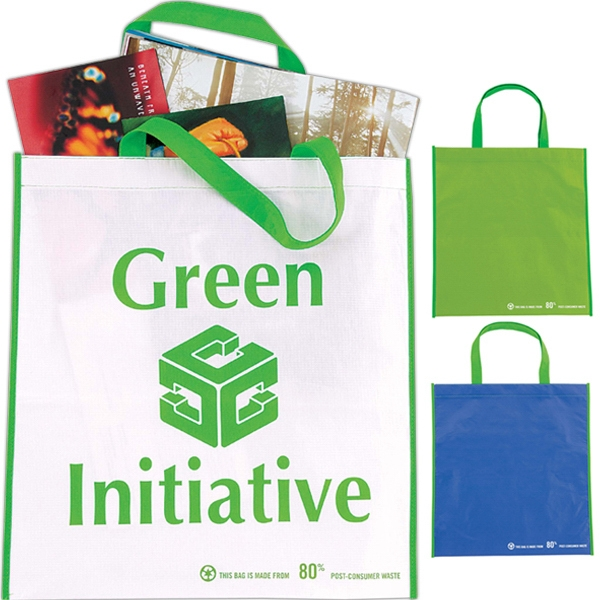 Eco Non-woven Tote With Pet And Polyester Laminate Photo