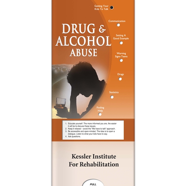 Pocket Slider - Drug And Alcohol Abuse Informational Guide Photo