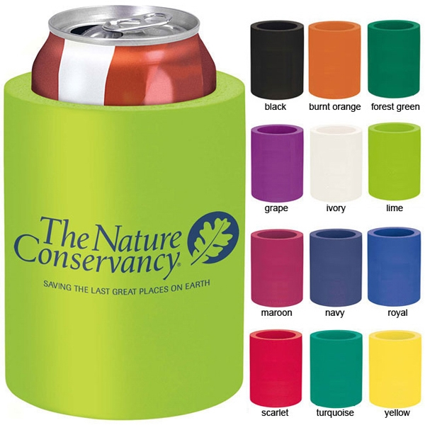 36-Hour Foam Koozie - Free Rush Photo