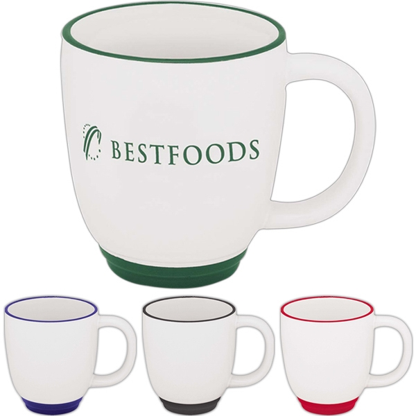 36-Hour Two Tone Bistro Mug - Free Rush! Photo