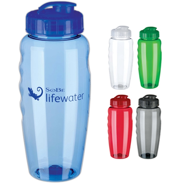 36-Hour Gripper Water Bottle 30oz. - Free Rush! Photo