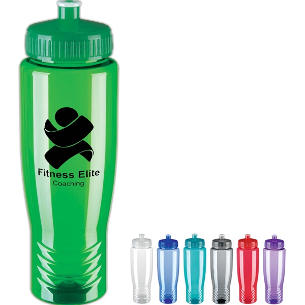36-Hour Poly Water Bottle 28oz. - Free Rush! Photo
