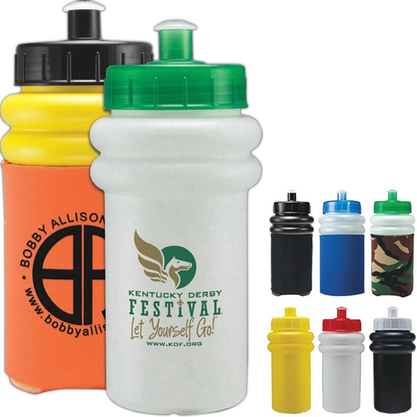 Mini Muscle - Push Pull Lid - Mini Sports Bottle With Lid Photo
