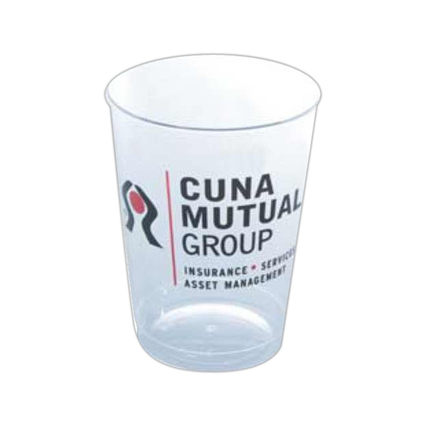 500 Line - Clear Plastic 10 Oz. Tumbler Photo