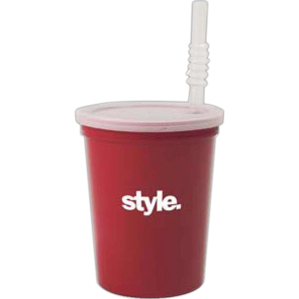 "500 Line - 5 Working Days - Blank 7"" Straw For Stadium Cups Photo"