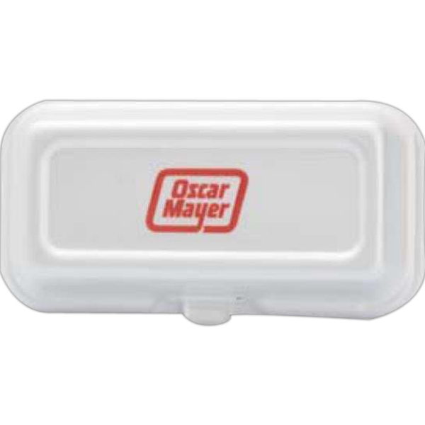 500 Line - 10 Working Days - Foam Hinged Hot Dog Deli Container Photo