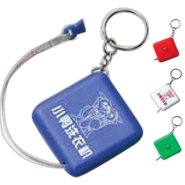 Tape Measure With Key Holder