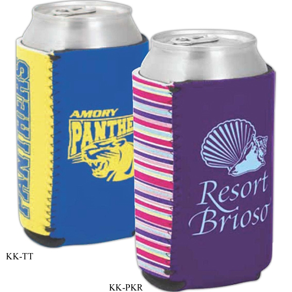 Kolder Kaddy (tm) P.k. Reese (tm) - Two Tone Can Insulator, High Quality Neoprene With Designer Pattern Photo