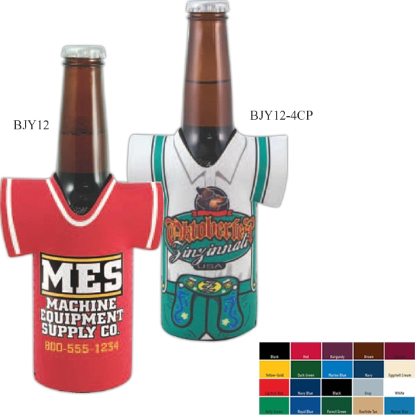 Longneck Bottle Jersey (tm) - Long Neck Bottle Insulator Sleeve, High-quality Neoprene Photo