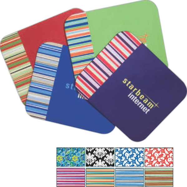 "Four Color Process, Designer Mouse Pads, Designer Pattern, 9"" X 7.25"" Photo"
