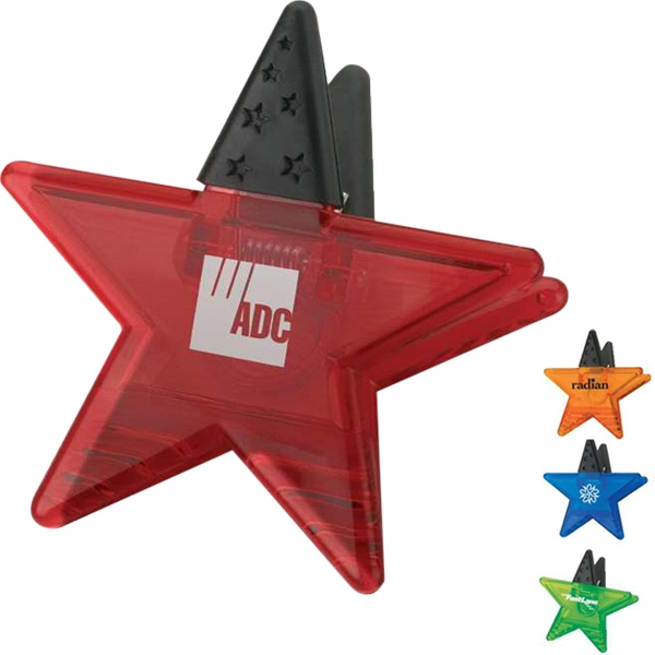 Star Shape Memo Holder Magnet Photo