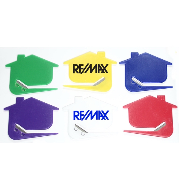 House Shaped Letter Openers