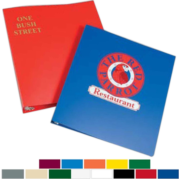 Poly Jr. Binder - Poly Ring Binder Economical And Environmental Element To Vinyl Binders Photo