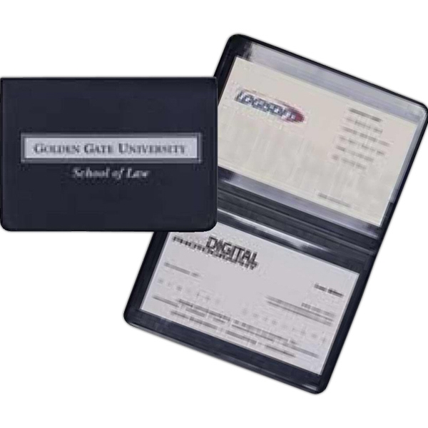 Prestige - Premium Simulated Leather Business Card Holder Photo