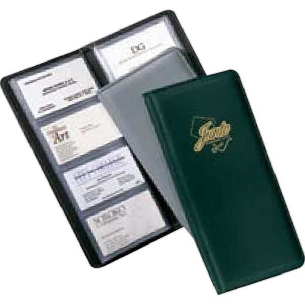 Newport - Premium Simulated Leather, Card Holder With Moire Lining Photo