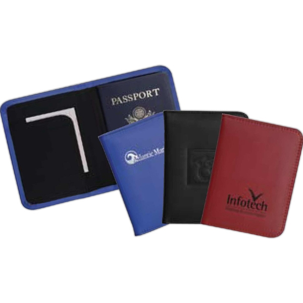 Achiever - Passport Holder Made From Leather With Storage Pocket Photo