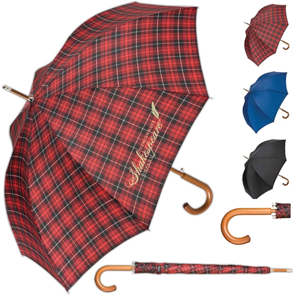 Totes (r) - Push Button Automatic Open Stick Umbrella Photo