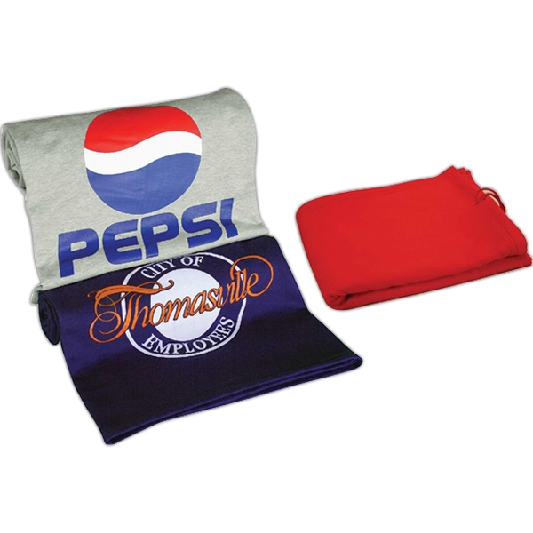 Sweatshirt Stadium Blanket, Heavy 12 Oz. Sweatshirt Material Photo
