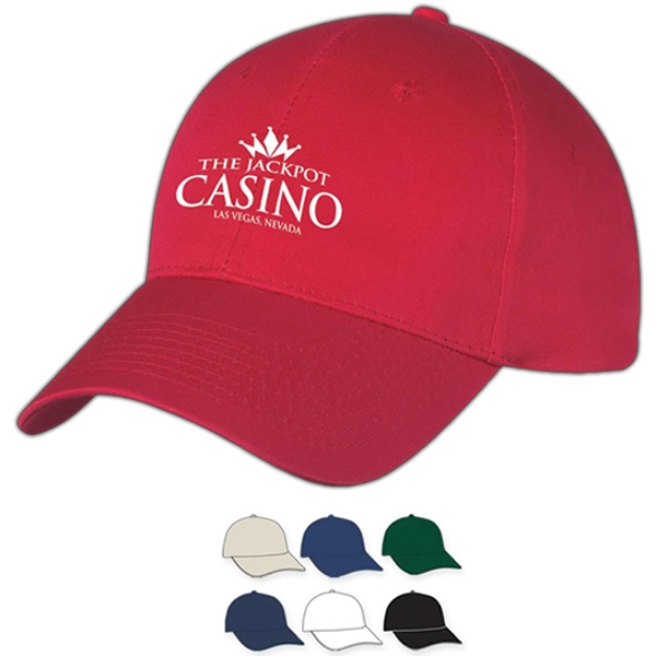 Hitwear (r) - Embroidery - Medium Profile Cap With Six Panels, Structured Crown And Pre-curved Visor Photo