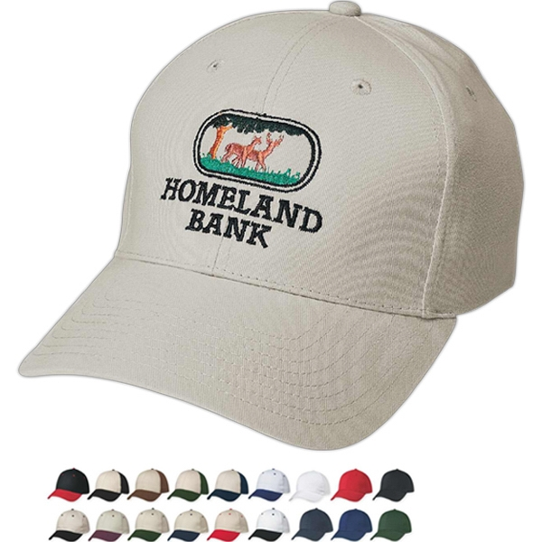 Hitwear (r) - Embroidery - Medium Profile Cap With Six Panels And Structured Crown Photo