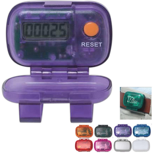 Colors - Pedometer With Laser Tuned Pendulum Movement Photo