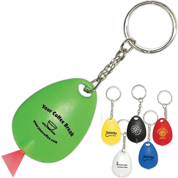 Tear Drop Mini Light Key Tag Photo