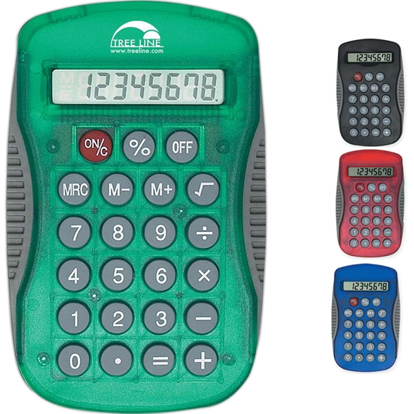 Sport Grip Calculator, 8 Digit Display, Battery Included Photo