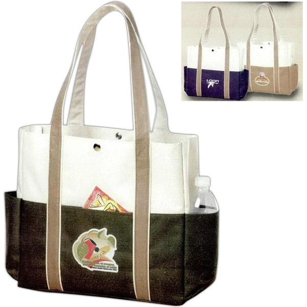 Contrast - Large Capacity Boat Tote Photo
