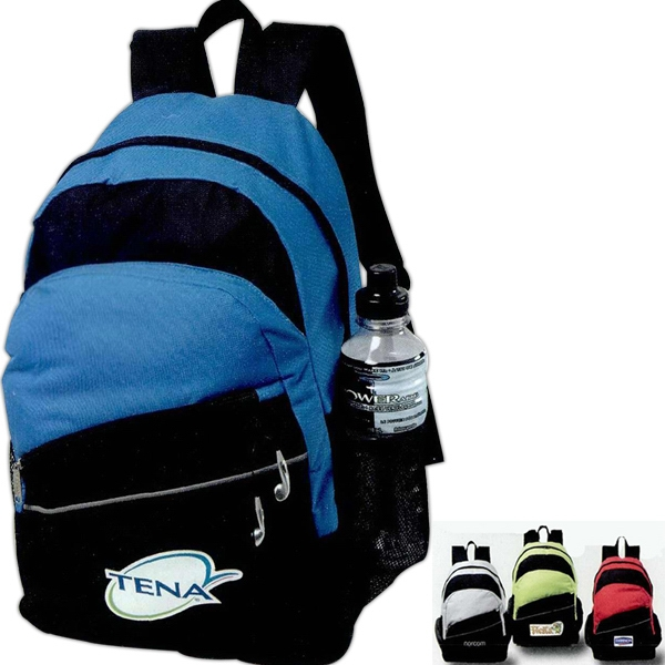 Solara - Backpack Made Of 600 Denier Polyester With Reflective Trim Photo