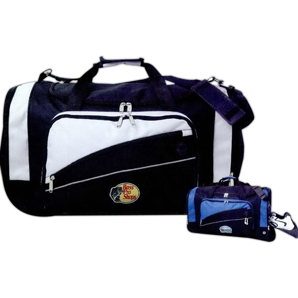 Solara - Sport Duffel, Polyester With Reflective Trim Molded Protective Feet Photo