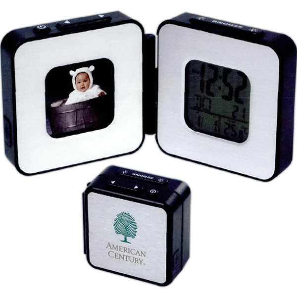Digital Frame And Travel Alarm Clock Photo
