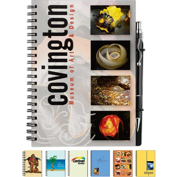 Showcase Journalbooks (r) - Full-color Journal With Thick, Coated Paperboard Front, 70 Sheets Of Lined Paper Photo